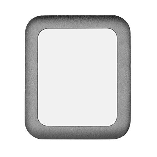Tempered Glass Screen Protector de pantalla completa 3d Curved–Protector de pantalla Vidrio Templado para Apple Watch iWatch Series 238mm/42mm 38 mm negro