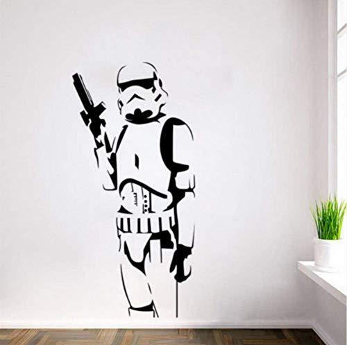 Sticker Mural Chambre Star Wars Classique Sticker Mural En Pvc Détachable Décor À La Maison