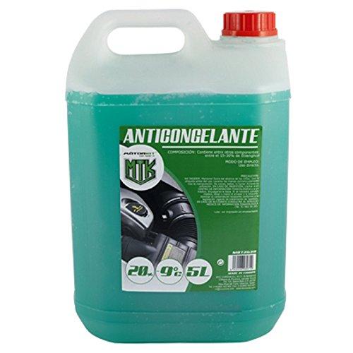 Motorkit MOT3538 Anticongelante, 5L, 20%, Verde