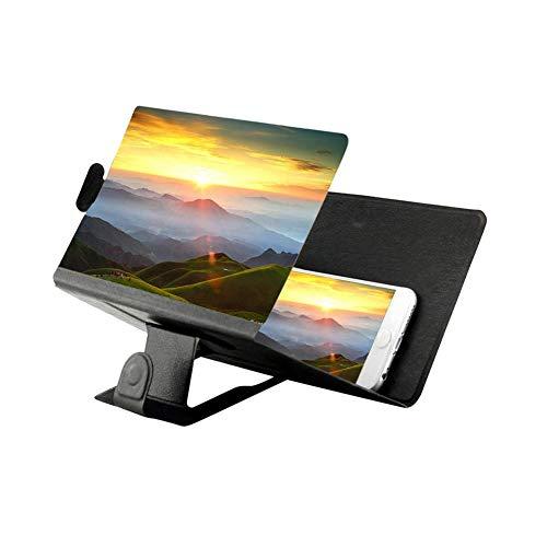 Smartphone Lupe HD Telefon Bildschirm 3D Movie Video Verstärker Smartphone Vergrößerungslupe...