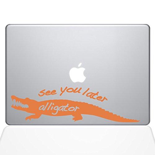 1165-MAC-13A-P Aufkleber Guru See You Later Alligator MacBook, Vinyl, 33 cm (13 Zoll), Orange -