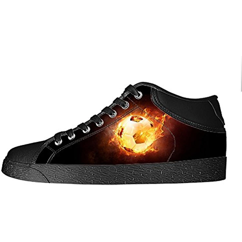 Custom sport calcio Men's Canvas scarpe shoes I lacci delle scarpe Canvas in Blto sopra le scarpe da ginnastica di scarpe scarpe...  Parent d4bec9