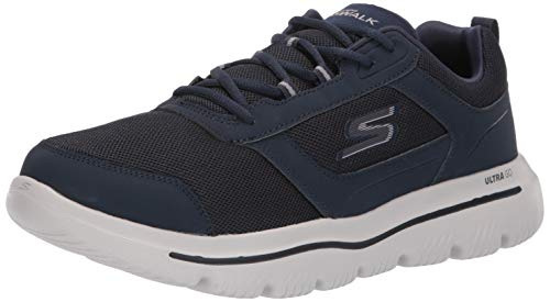 49ed61d4 Skechers Go Walk Evolution Ultra-enhan, Zapatillas para Hombre, Azul (Navy  Grey Nvgy), 42 EU