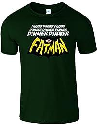 Fatman Dinner Funny Batman Hommes T Shirt Top Cadeau