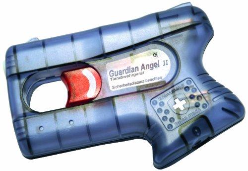 Pfefferspray-Pistole Guardian Angel II mit Aufbewahrungsbox aus Metall Tierabwehr-Gerät