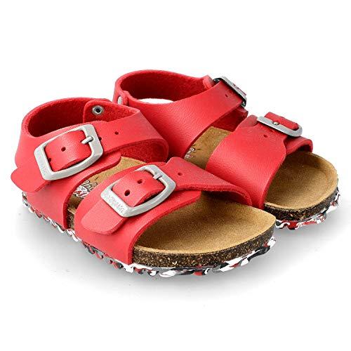 36412c9ac Garvalin Bio Boy Sandalen Sandaletten Kind Rot - 27 - Sandalen Sandaletten