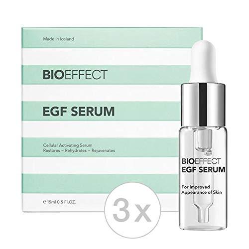 Bioeffect EGF Serum 15ml (Set - 3x 15ml), hochwertigste Anti-Aging Seren, Pflege von Gesicht, Hals...