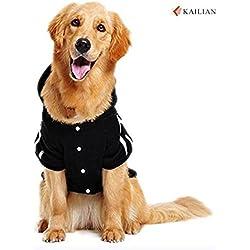 kailian® Nueva otoño y el invierno Perros Medianos y Grandes Perros Deportes Sudaderas, abrigos de perro, Jersey De Perro