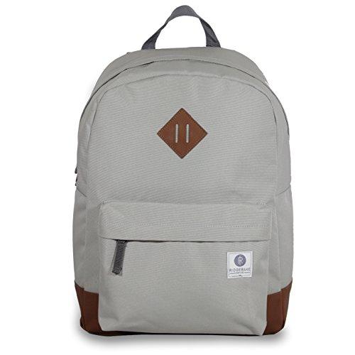 Ridgebake zaino caso FLAIR LIGHT GREY grigio Cordura Uomo Donna Bambini Laptop Backpack