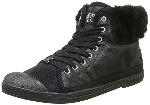 Le Temps Des Cerises - Basic 03, Sneakers da donna Nero (Noir (Fur Black))