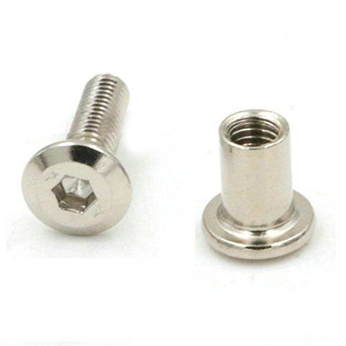 5 boulons vis /à t/ête cylindrique M12x50mm DIN912 acier zingu/é empreinte 10mm Allen C18267 Aerzetix