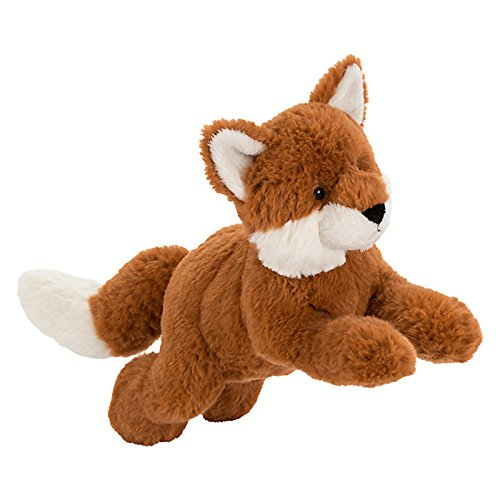 john-lewis-buster-the-boxer-otto-the-fox-pouncing-plush-soft-toy-brown-h18cm