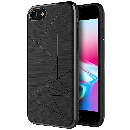 iPhone 8Fall, Nillkin magnetisch TPU Fall [Speziell für Nillkin Magnet Auto Wireless Ladegerät] Slim weiche Rückabdeckung für iPhone 8 Nillkin Fall