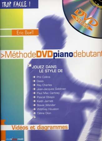 Trop Facile Methode Piano CD + CD ROM PC/Mac
