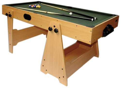 DEMA Billard/Airhockey 2in1, braun -