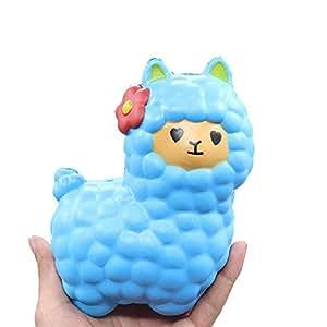 Squishy Galaxy Sheep : Hotsellhome Sheep Squishy Toys Cute Alpaca Galaxy Super Jumbo Squishies Slow Rising Scented Fun ...
