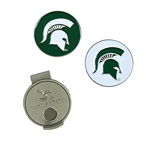 Team Effort Michigan State Spartans NCAA Hat Clip & Ball