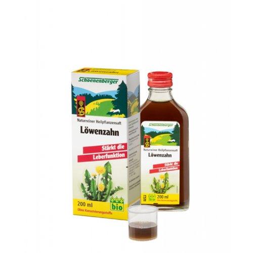 Schoenenberger Naturreiner Heilpflanzensaft Löwenzahn (1 x 200 ml)