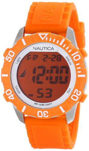 Nautica Unisex N09927G NSR 100 Fashion Digital Montre