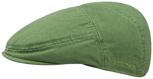 paradise-coppola-in-cotone-stetson-berretti-piatti-cotton-cap-xl-60-61-verde