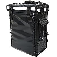"""pk-34V: entrega de alimentos pequeños mochila para caliente y bebidas frías, entrega Carrier, potable bolsa de entrega, café take out entrega caja, carga superior, cierre de velcro, 13""""L x 9"""" W x 18""""H"""