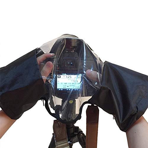 2pcs Digitalkamera Regen Cover-Slr-Kamera mit wasserdichtem Regenmantel Regen-Regenschutz-geeignet für alle Arten von Kameras Slr-cover