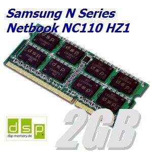 2GB Speicher / RAM für Samsung N Series Netbook NC110 HZ1