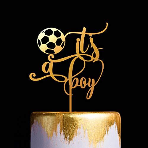 Tortenaufsatz für Babyparty, Fußball-Motiv, Tortenaufsatz Spieler, Fußballspieler, Geburtstagsparty, Geburtstagsparty
