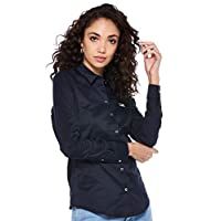 Tommy Hilfiger shirt for women in Midnight Blue, Size:Large