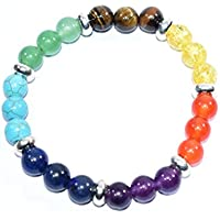 Bracelet Seven Chakra With Turqoise Head Birthstone Handmade Healing Power Crystal Beads preisvergleich bei billige-tabletten.eu