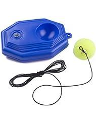 Senston Tennis-Zubehör es umfasst Tennis String Tennisschläger Abdeckung Tennisball Stoßdämpfer Training.
