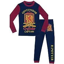 Harry Potter - Pijama para Niños - Harry Potter - Ajuste Ceñido