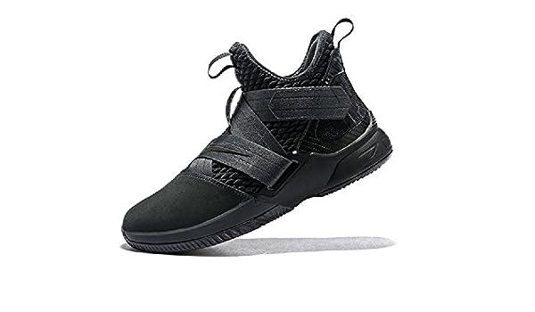 premium selection a3fa0 ea638 Nike Herren Lebron Soldier XII SFG Anthrazit Textil Synthetik  Basketballschuhe 52,5  Amazon.de  Schuhe   Handtaschen