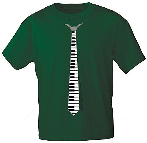 Marken - T-Shirt mit Motivdruck - Klavier mit Krawatte - 10251 - Gr. S-XXL Size XL
