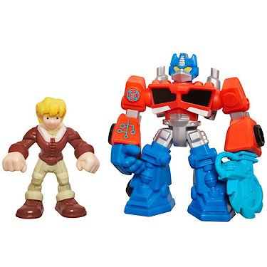Playskool Heroes – A2108 – Transformers Rescue Bots – Optimus Prime & Cody Burns (Import UK)