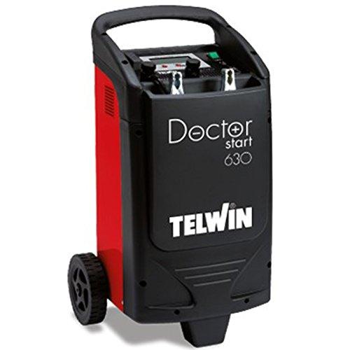 Telwin Doctor Start 630 pulsetronic de démarrage d'urgence Starter Chargeur de batterie Conservation Chargeur 12 V/24 V