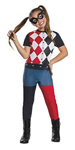 DC Comics - Disfraz de Harley Quinn para niña 7b2e0b582935