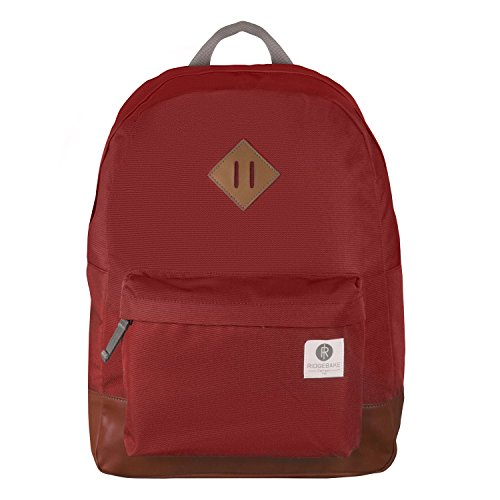 Ridgebake zaino caso FLAIR RED Cordura Uomo Donna Bambini Laptop Backpack