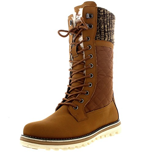 Polar Womens Snow Durable Outdoor Thermal Winter Warm Waterproof Mid Calf Boot...