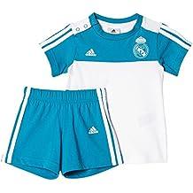 adidas 3S SMR SET Chándal Real Madrid, Niños, Azul (Azuint / Blanco), 104