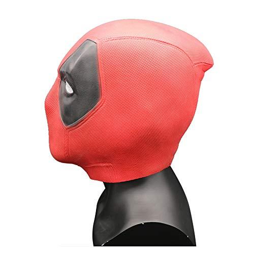 Wirklich Kostüm Einfach Superheld - CHXY Deadpool Masken Kind Erwachsener Helm Halloween Maske Mottoparty Cosplay Hüte Kopfbedeckung Karneval Schminke Zubehör