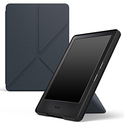 """MoKo Kindle 8ª Gen Case - Custodia Origami Verticale per Nuovo E-reader Kindle, schermo touch da 6"""" anti riflesso (8ª Gen - modello 2016), INDACO (Con Auto Sonno/Sveglia)(NON per Paperwhite)"""