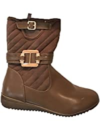 Generic Women's Brown Reaction Boots - Size: 36