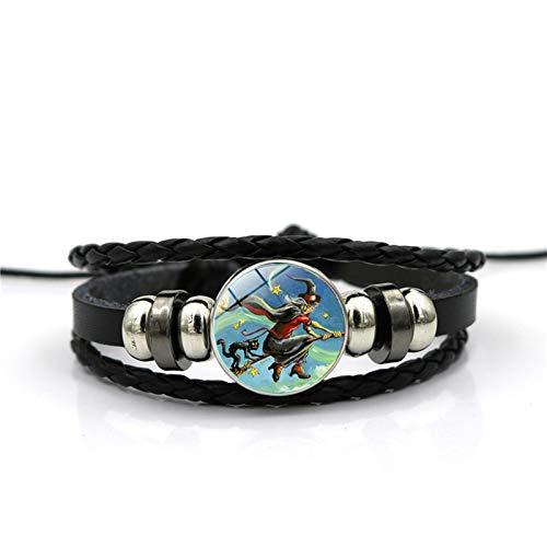 Blisfille Halloween Hexe Zeit Edelstein Armband Mode Armband Hand Link Day Damen Herren ()