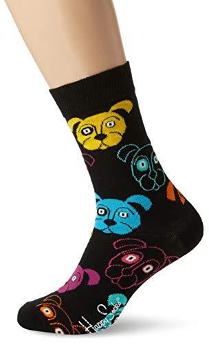(Happy Socks Herren Dog Sock,  Schwarz  (Black 9001), Herstellergröße: 41-46)
