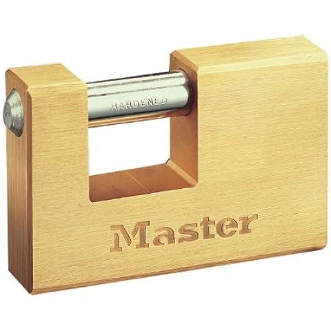Master Lock 606EURD Lucchetto Ottone Rettangolare 63