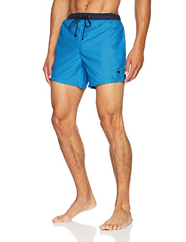 Hugo Boss Herren Badeshorts Lionfish Blau (Open Blue 484)