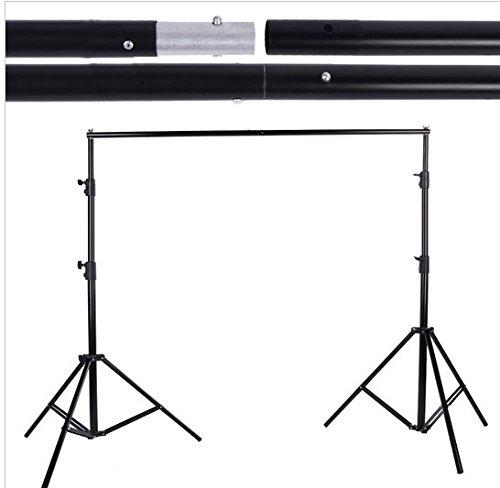 Preisvergleich Produktbild Gowe/9,2* 2,8* 3M 9.8Ft verstellbar Fotografie Hintergrund Ständer Querträger Kit Set für Mullwindeln Hintergrund