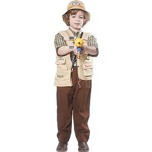 Dress up America - Pescador, disfraz talla L, 12-14 años (495-L)