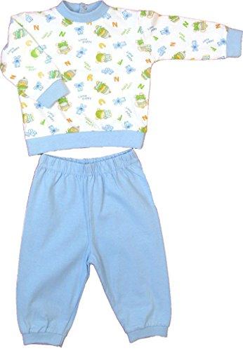 Step In Baby Schlafanzug, 5826, hellblau, Gr. 80